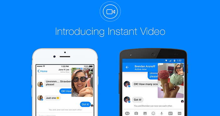 The New Instant Video Feature of Facebook Messenger