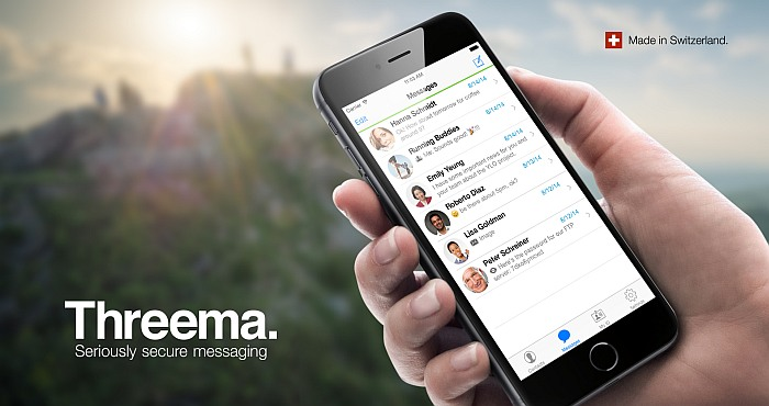 Keep Your Data Out of the Hands of Hackers with Threema Messenger