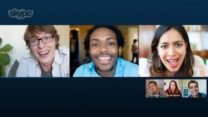Skype Messenger and how to make Free Group Video Calling 2