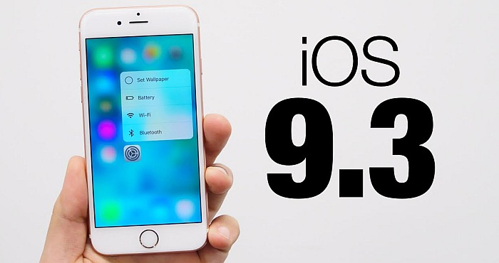 Latest iOS 9.3 Update Impacts Older Devices Causing Apps To Freeze And Crash