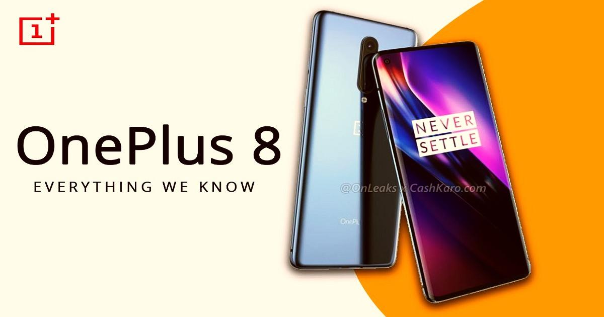 OnePlus 8 and OnePlus 8 PRO